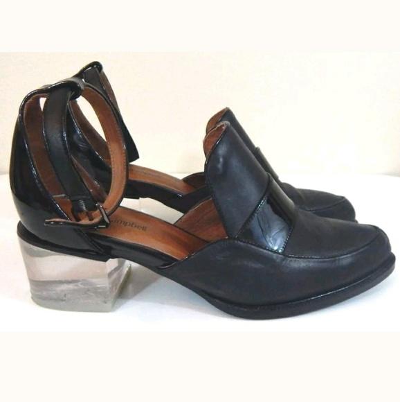 Jeffrey Campbell Shoes - Jeffrey Campbell Walden Lucite Heel Oxfords